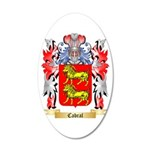 Cabral 20x12 Oval Wall Decal