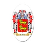 Cabral 35x21 Oval Wall Decal