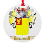 Cabotto Round Ornament