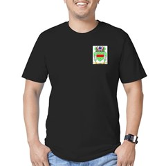 Cable Men's Fitted T-Shirt (dark)
