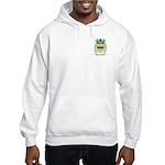 Cable Hooded Sweatshirt