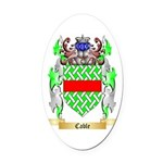 Cable Oval Car Magnet