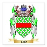 Cable Square Car Magnet 3