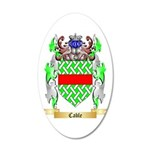 Cable 20x12 Oval Wall Decal