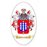 Cabezuelo Sticker (Oval 50 pk)