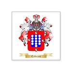 Cabezas Square Sticker 3