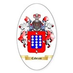 Cabezas Sticker (Oval 50 pk)