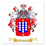 Cabeza Square Car Magnet 3