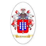 Cabeza Sticker (Oval 10 pk)