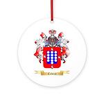 Cabeza Ornament (Round)