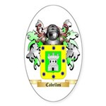 Cabellos Sticker (Oval 50 pk)