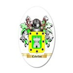 Cabellos 35x21 Oval Wall Decal