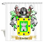 Cabellos Shower Curtain