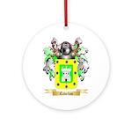 Cabellos Ornament (Round)