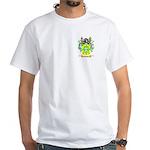 Cabello White T-Shirt