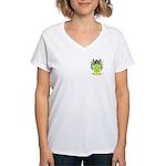 Cabello Women's V-Neck T-Shirt