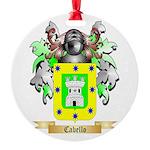 Cabello Round Ornament