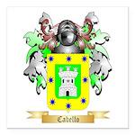 Cabello Square Car Magnet 3