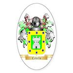 Cabello Sticker (Oval 50 pk)