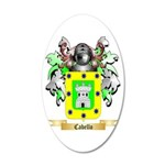 Cabello 20x12 Oval Wall Decal