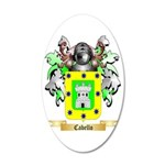 Cabello 35x21 Oval Wall Decal