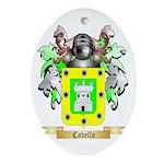 Cabello Ornament (Oval)