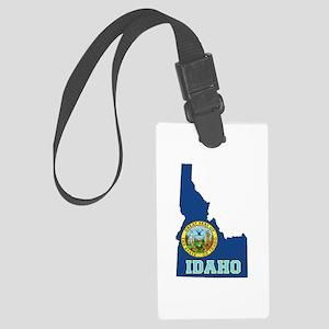 Idaho Flag Large Luggage Tag