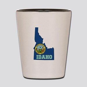 Idaho Flag Shot Glass