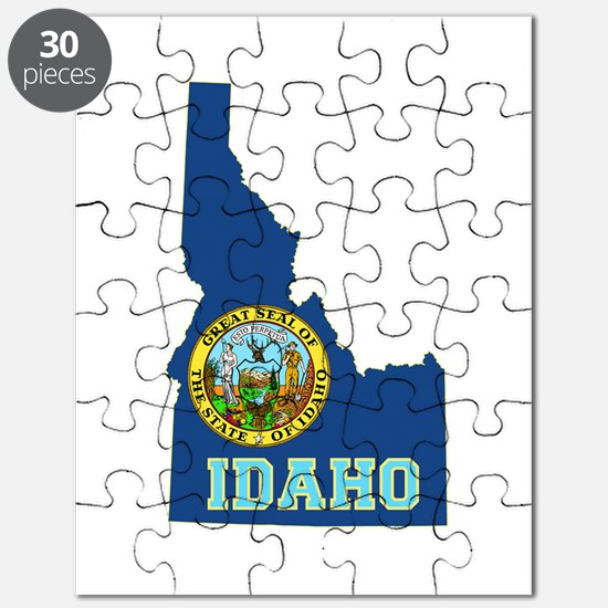 Idaho Flag Puzzle