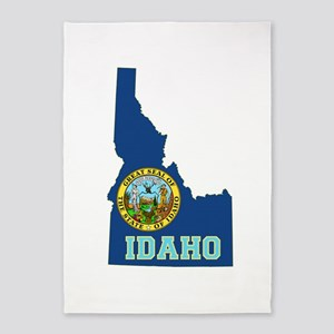 Idaho Flag 5'x7'Area Rug