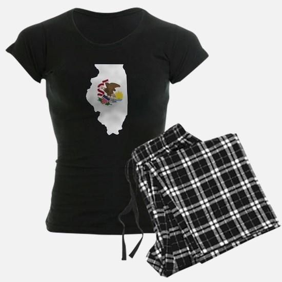 Illinois Flag Pajamas