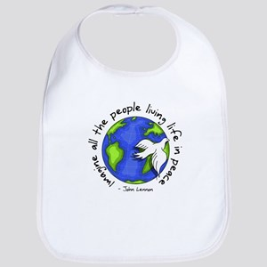 imagine_world_life_peace_dark Bib
