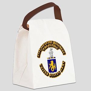 COA - 31st Infantry Regiment Canvas Lunch Bag