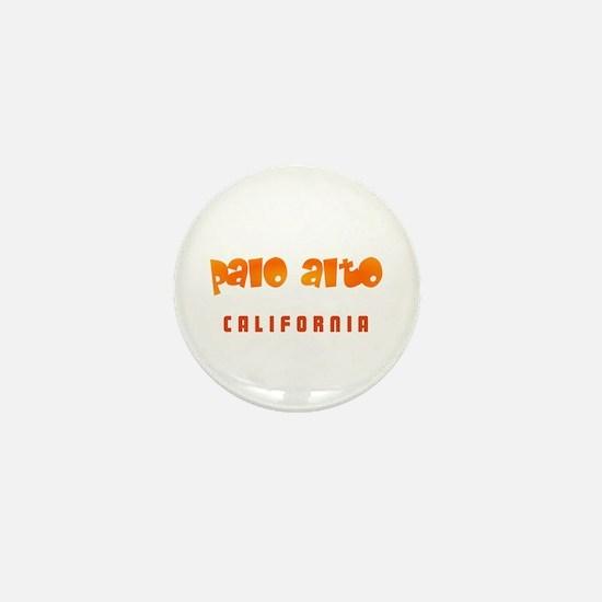 Palo Alto California Mini Button