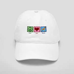 Peace Love Boxers Cap