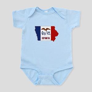 Iowa Flag Infant Bodysuit