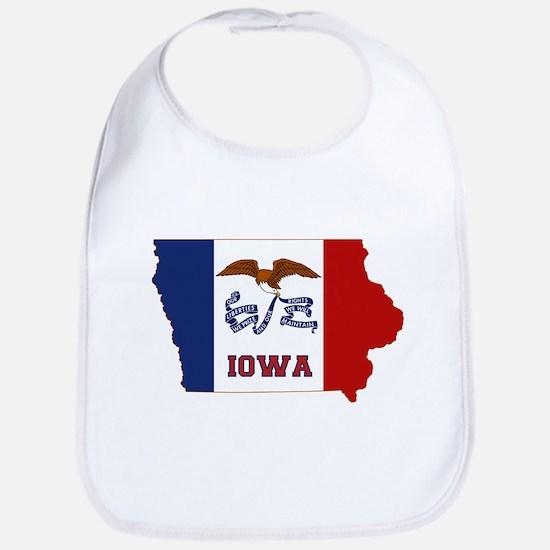 Iowa Flag Bib