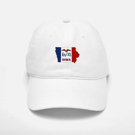 Iowa Flag Baseball Baseball Cap
