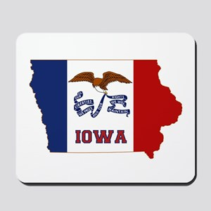 Iowa Flag Mousepad