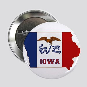 "Iowa Flag 2.25"" Button"