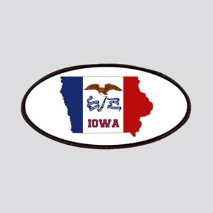 Iowa Flag Patches