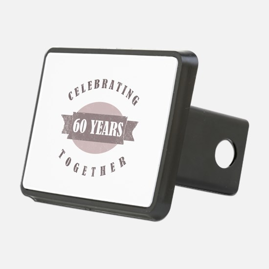 Vintage 60th Anniversary Hitch Cover