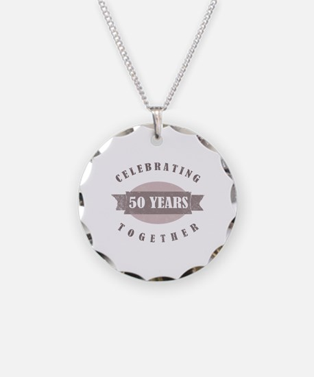 Vintage 50th Anniversary Necklace