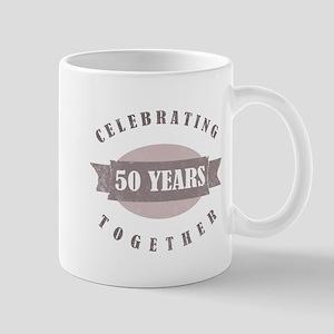 Vintage 50th Anniversary Mug
