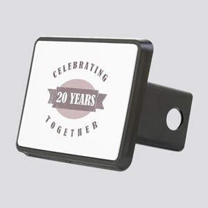 Vintage 20th Anniversary Rectangular Hitch Cover