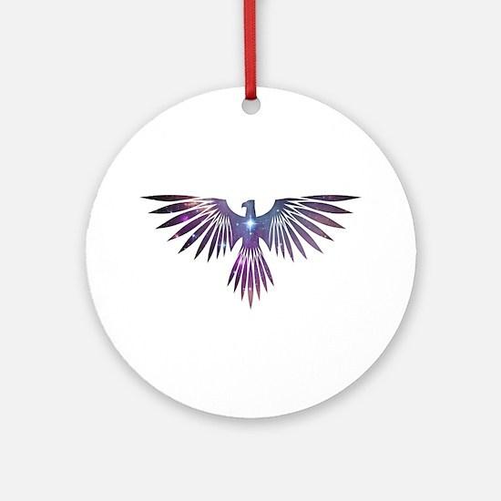 Bird of Prey Ornament (Round)