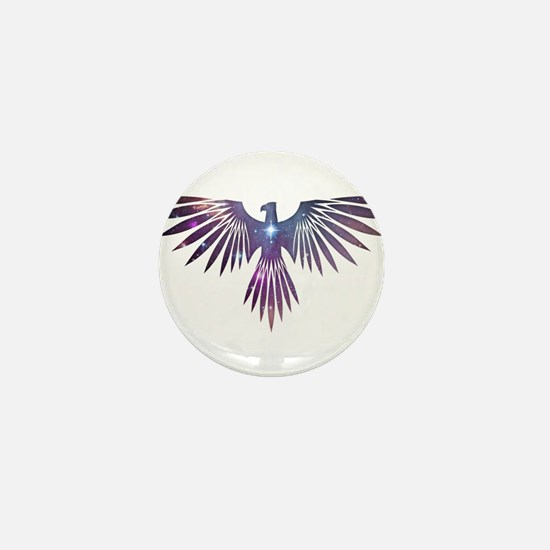 Bird of Prey Mini Button