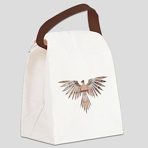 Bird of Prey Canvas Lunch Bag