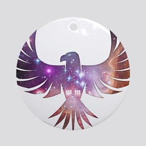 Bird of Prey Ornament (Round)