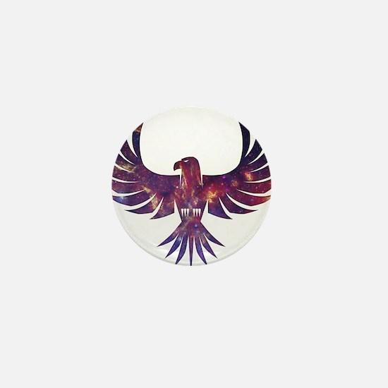 Bird of Prey Mini Button